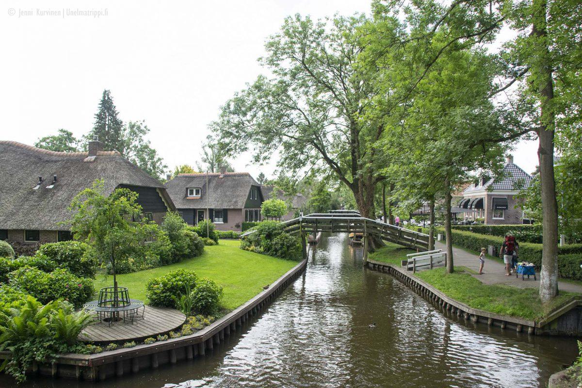 Alankomaiden Giethoorn – kun etsit vähän erikoisempaa matkakohdetta