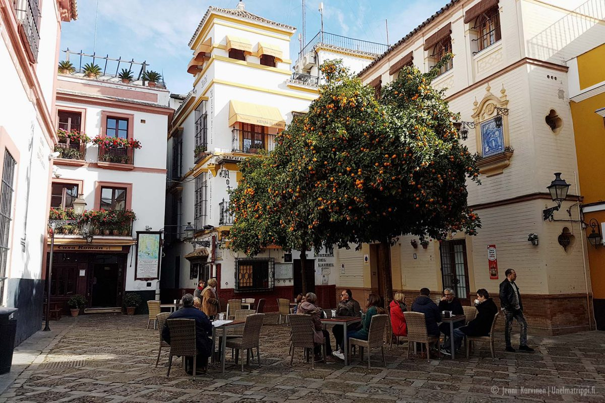 Santa Cruzin kaupunginosa, Sevilla, Espanja