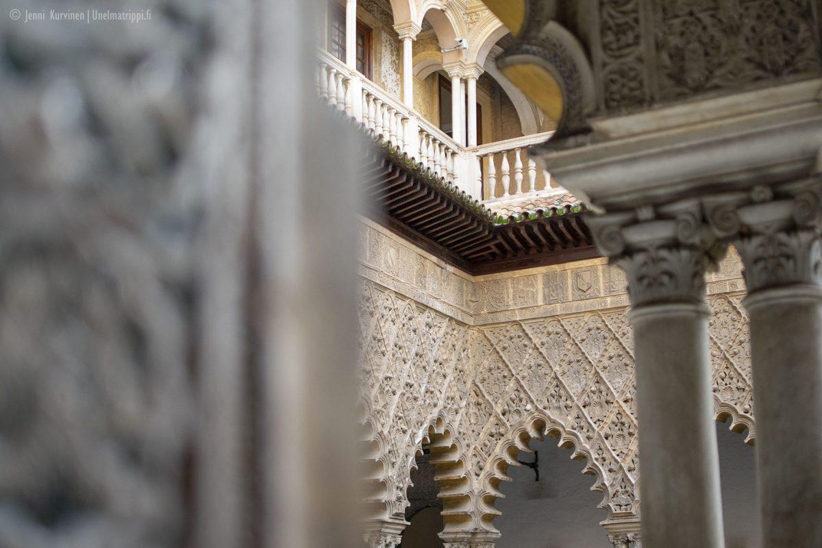 Sevillan kuninkaallinen palatsi Real Alcázar