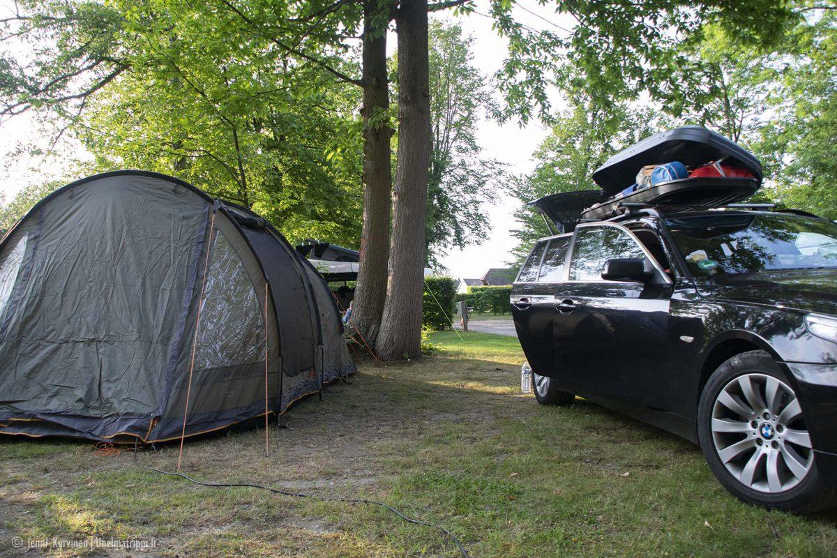 Telttailu leirintäalueella Euroopassa: käytännön vinkit aloittelijalle