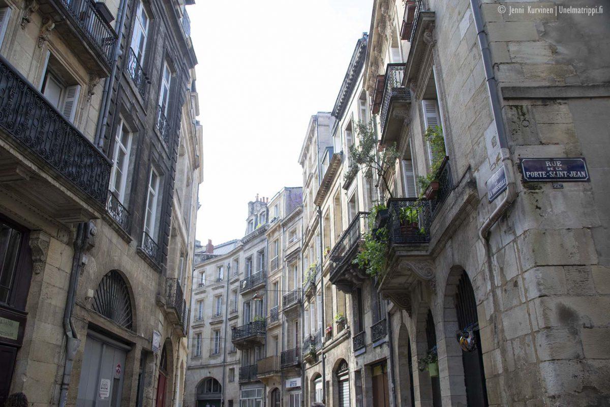 Bordeaux: viiniä, ruokaa, kaunista arkkitehtuuria