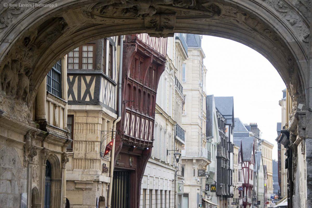 Normandia on matkailijan aarreaitta
