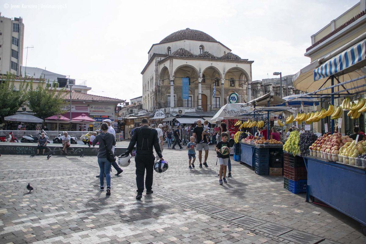 Artikkelikuva - Monastirákin aukio, Ateena