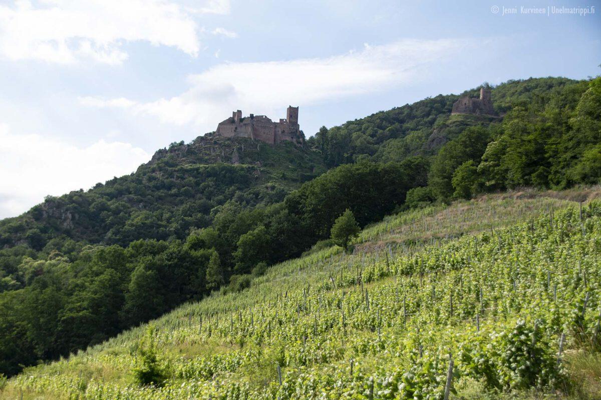 Ribeauvillé: kaunis viinikylä Ranskan maaseudulla