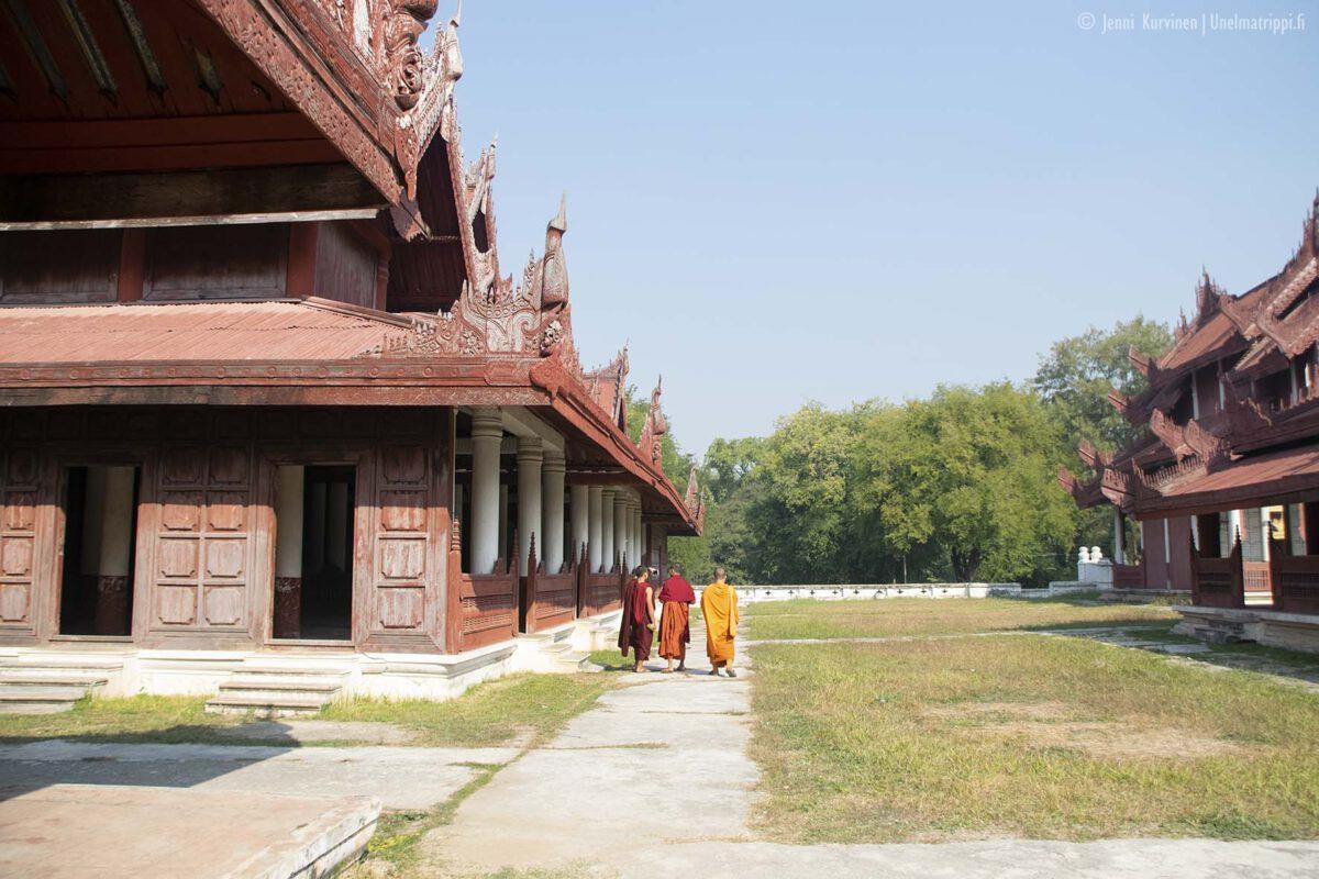 Artikkelikuva - Mandalayn Kultainen palatsi (Mandalay Palace)
