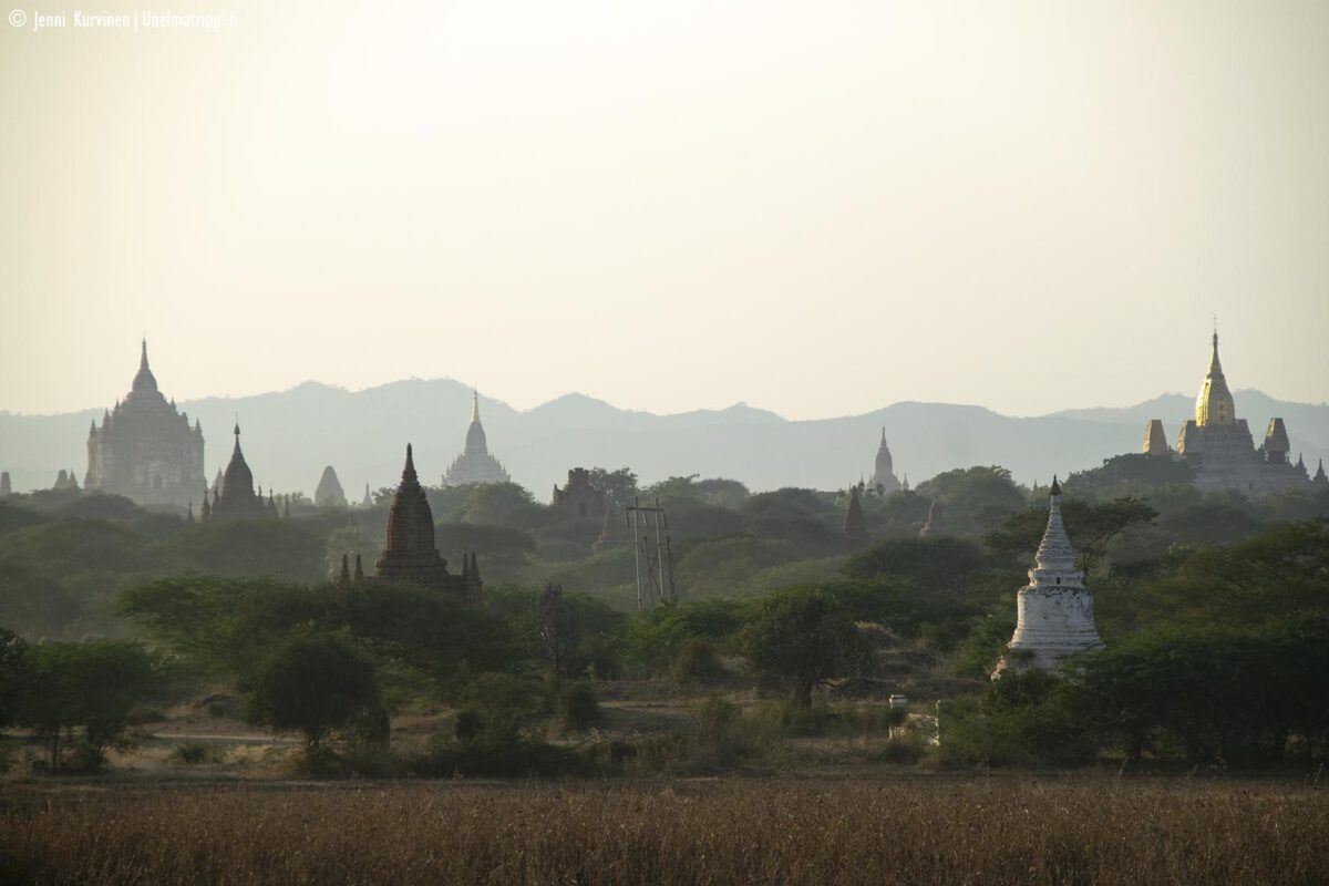 Myanmar: Baganin lumoavat temppelit