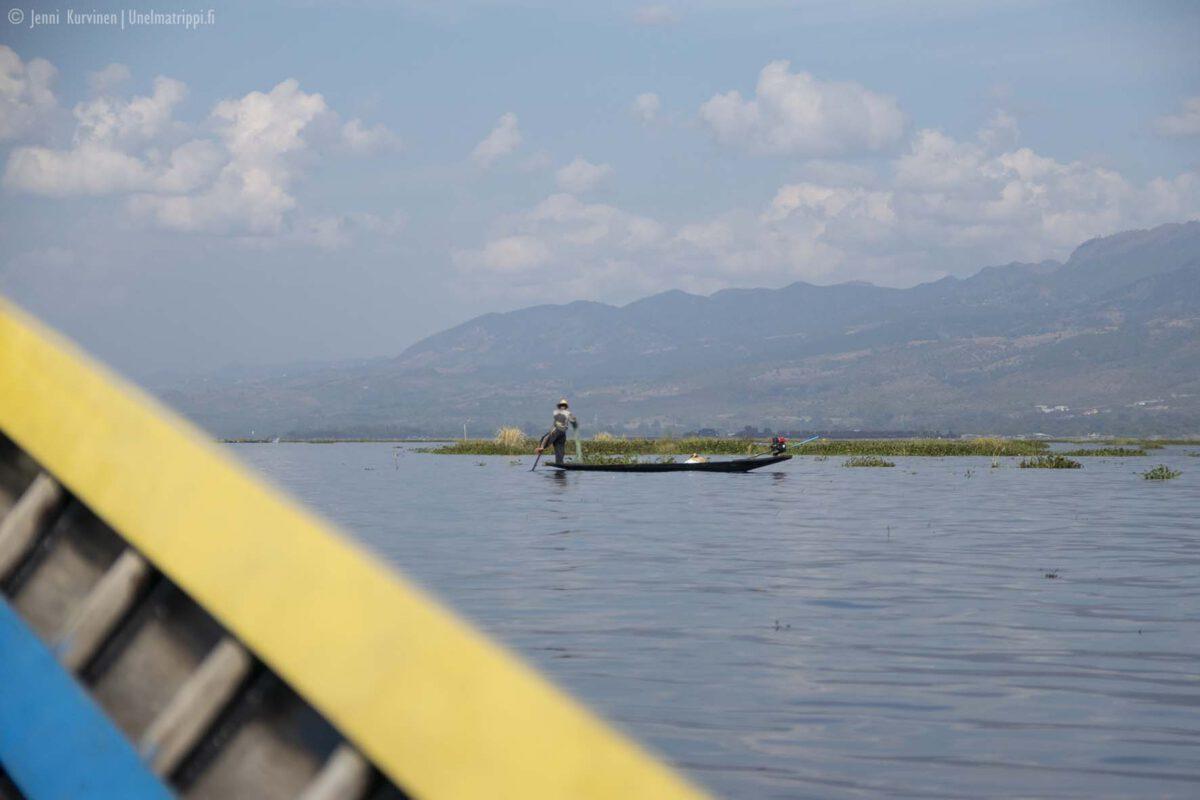Myanmar: ihana Inlejärvi!
