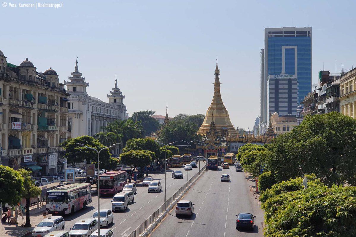 Artikkelikuva - Sule Paya, Yangon, Myanmar