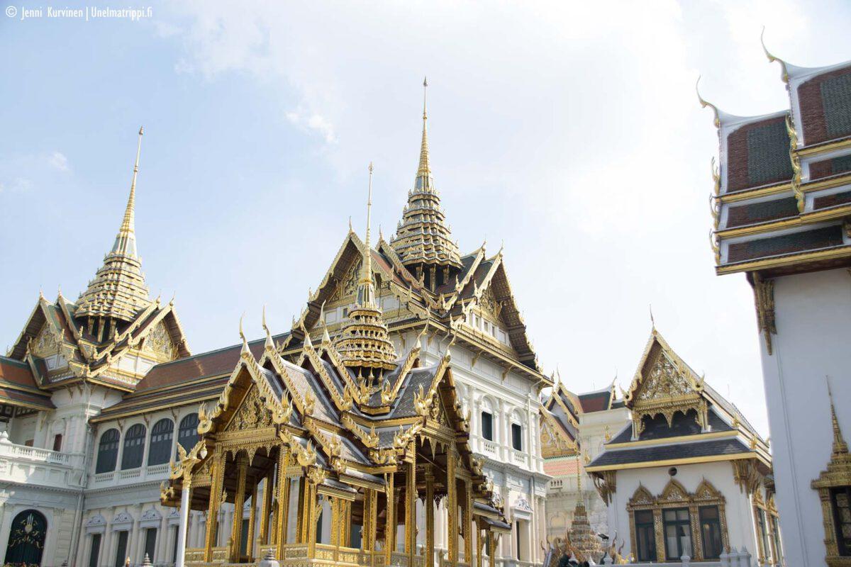 Bangkokin nähtävyydet: Suuri palatsi