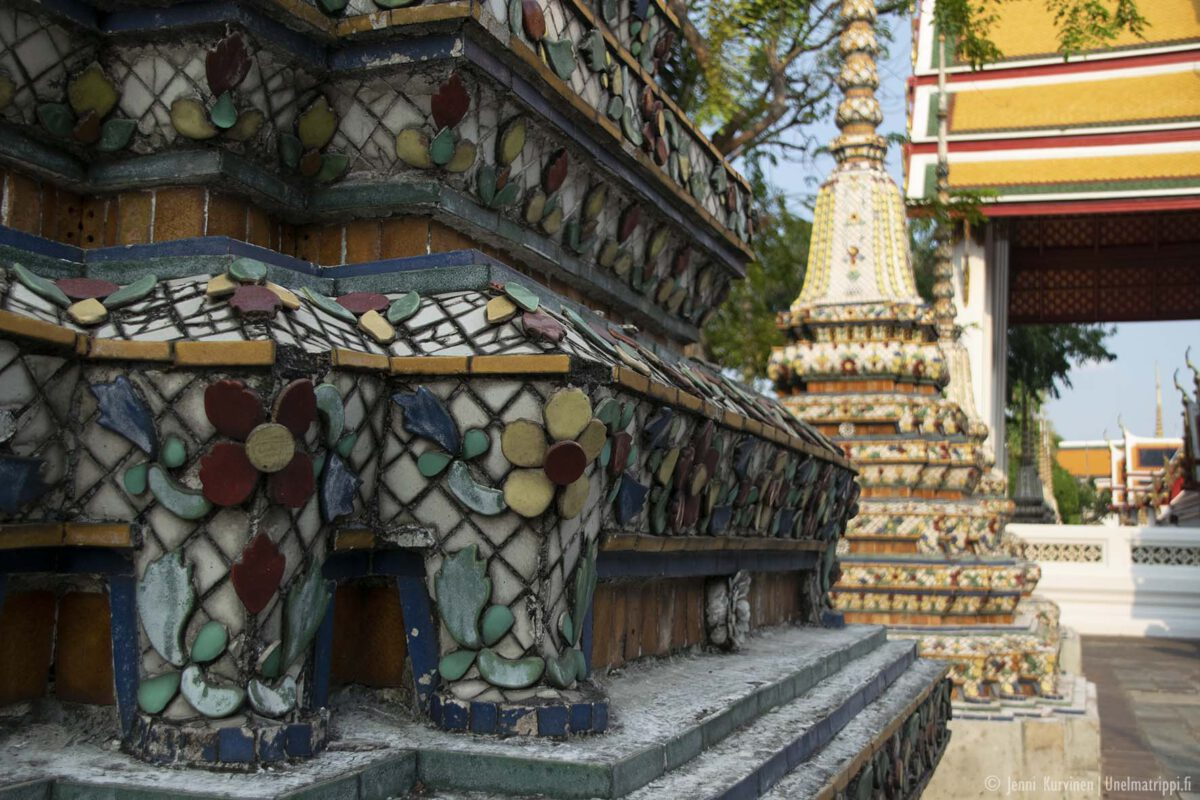 Bangkokin nähtävyydet: Wat Pho -temppeli