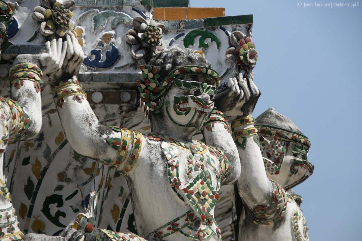 Bangkok: Wat Arun, kaupungin maamerkki
