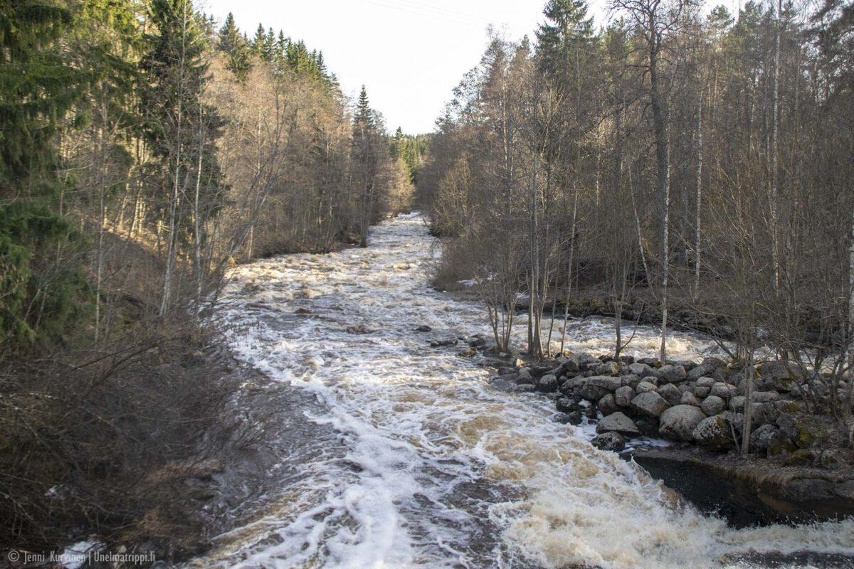 Nukarinkoski – veden pauhua Nurmijärvellä