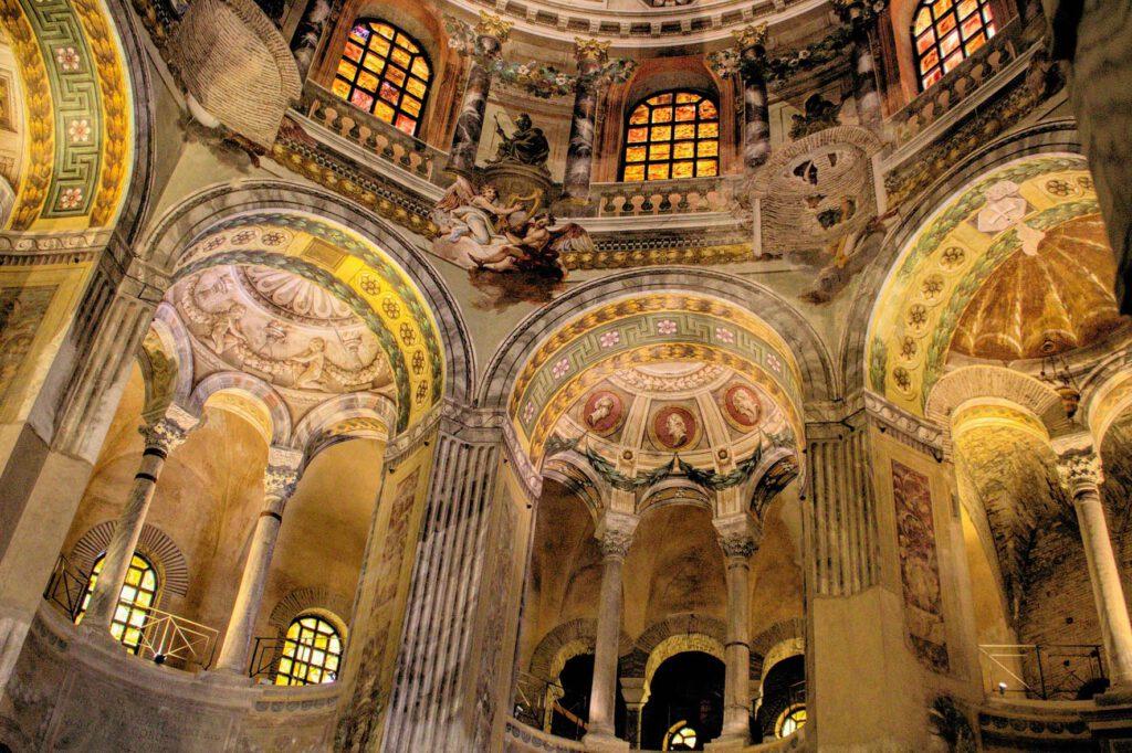San Vitalen basilika