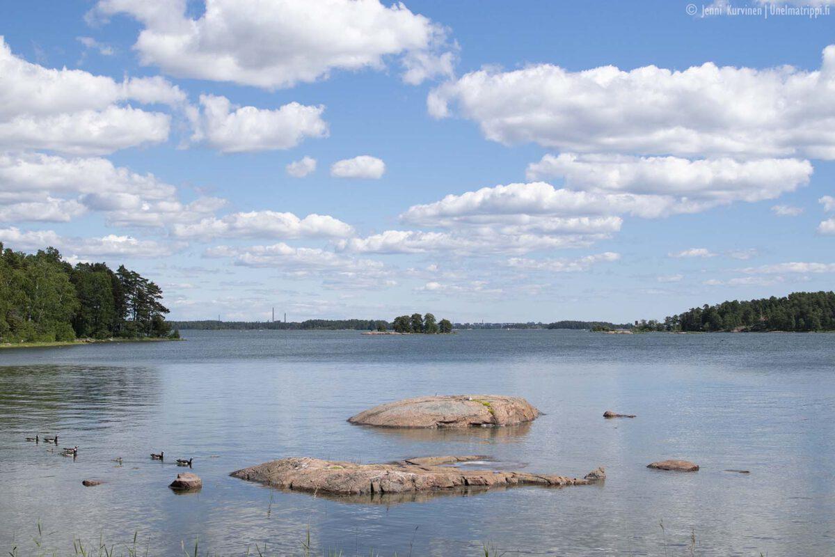 Päiväretki saaristoon: Espoon Iso Vasikkasaari