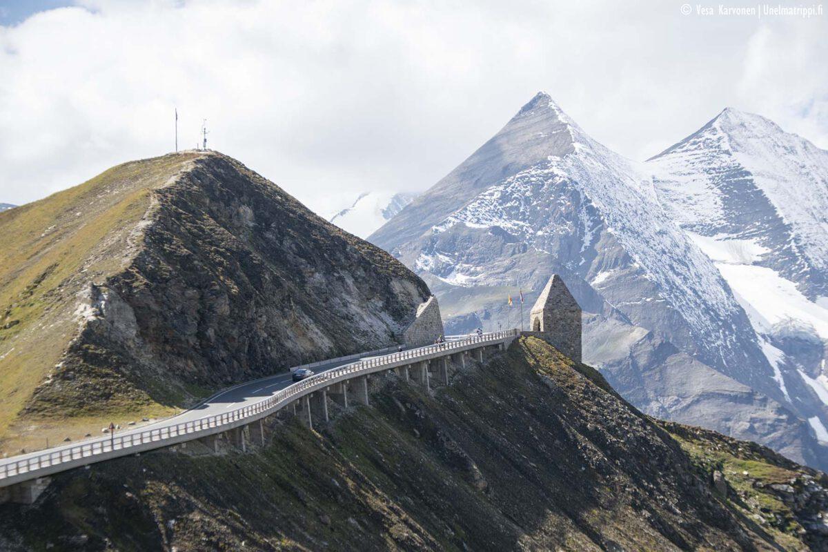 Kolmen viikon automatka Saksassa, Itävallassa ja Italiassa: reitti ja kohteet