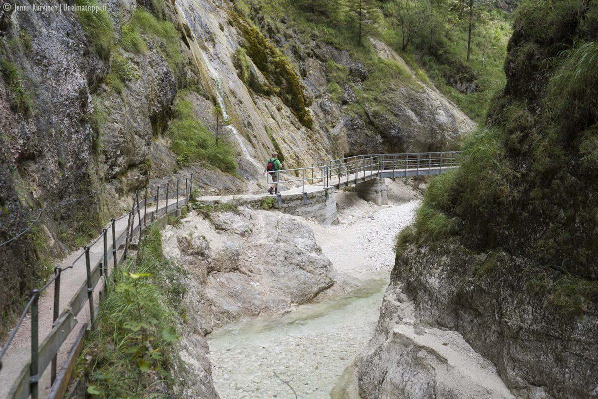 Patikointia Baijerissa: Almbachklammin kanjonireitti